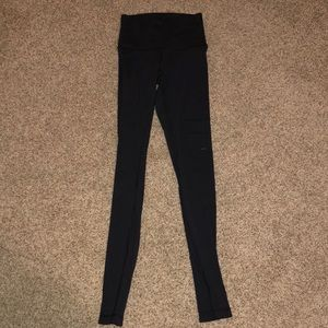 women's black wunder under leggings